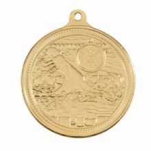 Endurance 50mm Swimming Medal